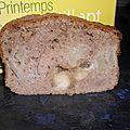 Cake creme de marron et poires