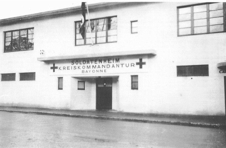 Kreiskommandantur la Nautique de l'Aviron à Bayonne