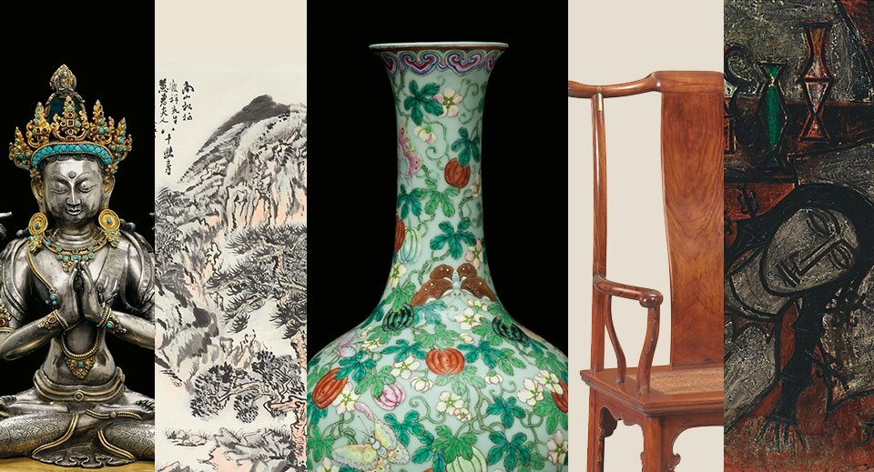 Christie's New York announces the sales of Asian Art Week from 15 September to 18 September.