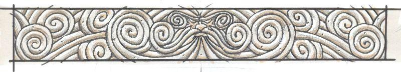 Bordure de style orlanthi (2010) publiée dans Heortling Mytholog