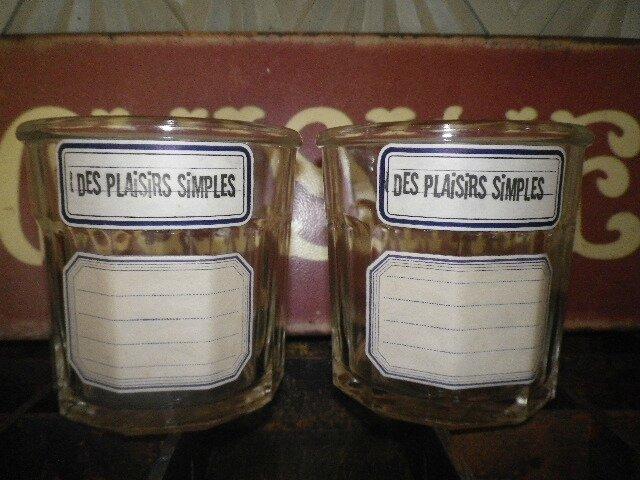 vieux pots a confiture anciennes etiquettes d ecole scrap art d co. Black Bedroom Furniture Sets. Home Design Ideas