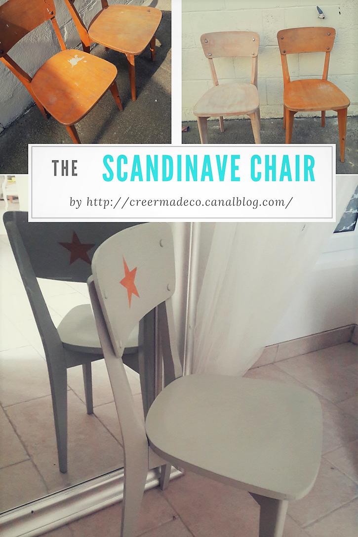 Un sauvetage de chaises scandinaves!