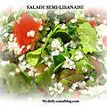 Salade semi-libanaise