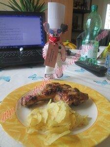 Cuisses de poulet marinées au barbecue20