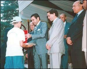 Prince Moulay Rachid chaired the ceremony of the vacation camps, within the framework of operation
