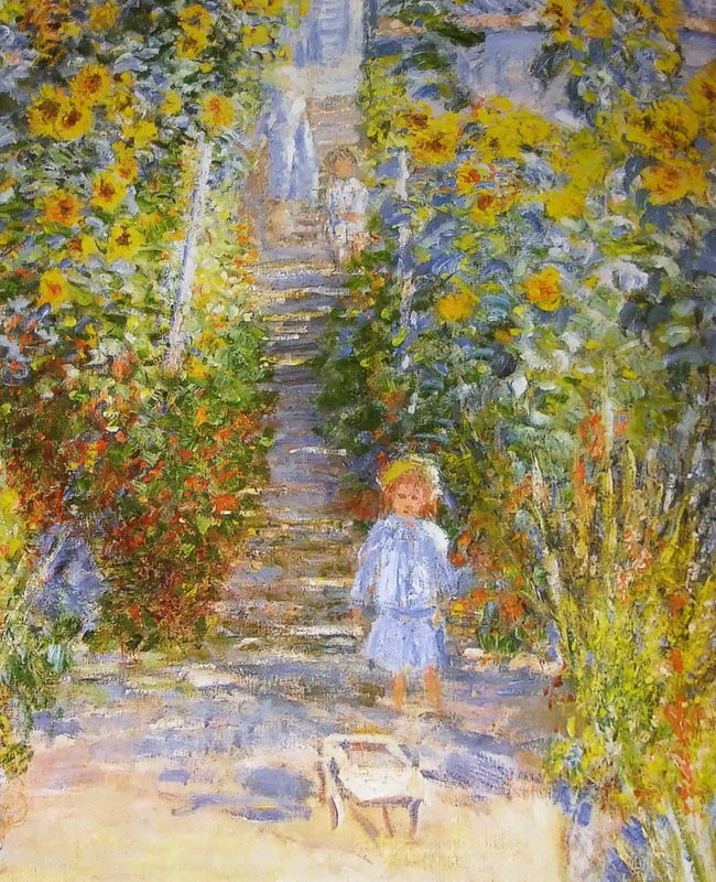 Impressions selon monet la colline aux carlines for Au jardin de jean pierre inc