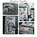 Album broderies oxydees - atelier offert - etape 1- collection broderies oxydées - article dt : sylvie leblanc