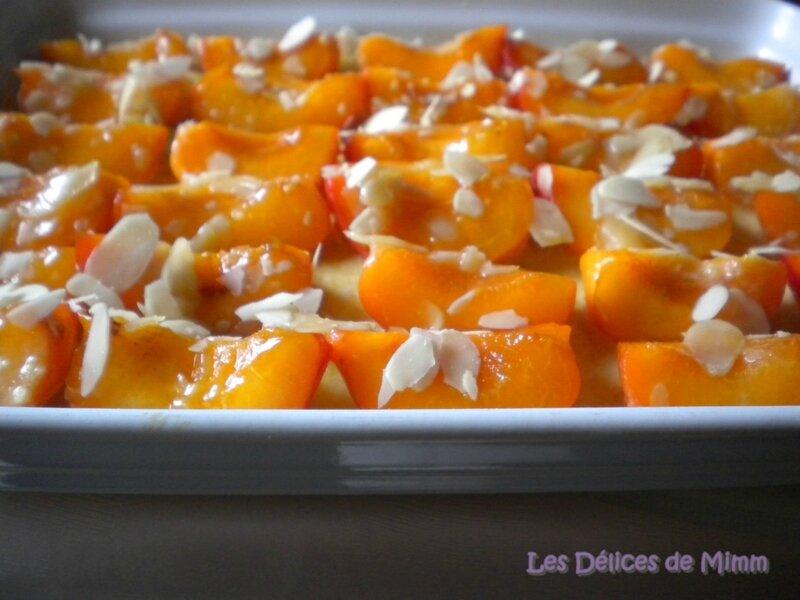Gratin d'abricots à l'Amaretto 3