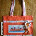 sac bibliotheque toutou orange 1