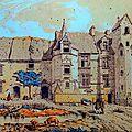 Au 19ème siècle, Arcisse de Caumont est impressionné par ce manoir