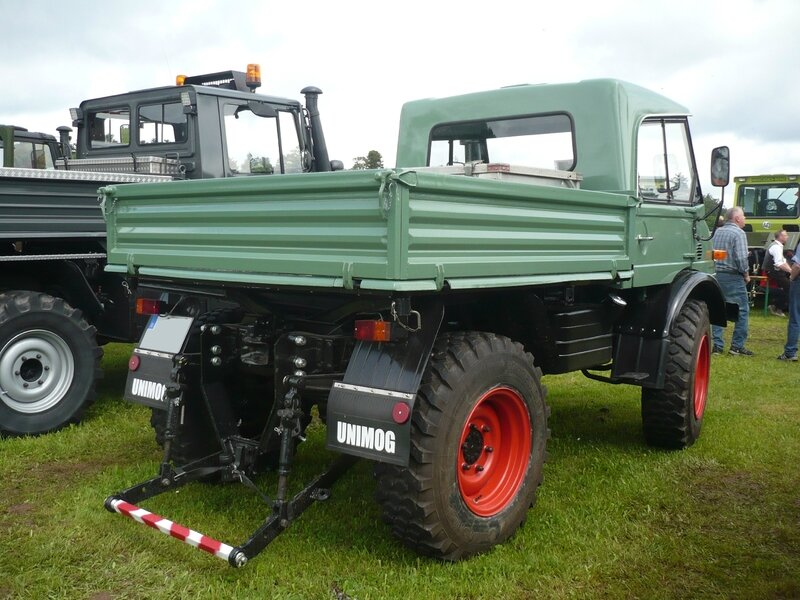 UNIMOG type 403 convertible 1969 Bad Teinach - Schmieh (2)