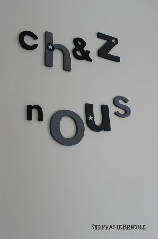 Comment découper soi-même des lettres en bois à la scie à ...