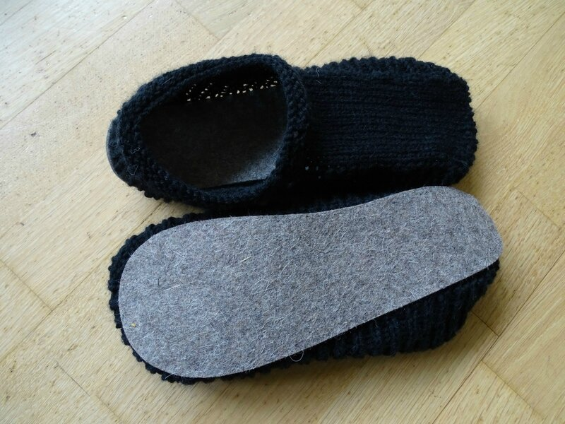 chaussons homme tricot kokechic 2