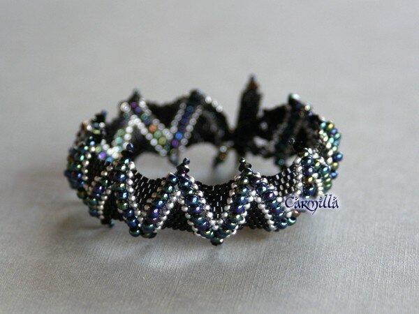 Bracelet Jagged pour Sereine