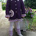 Une jolie petite veste pour la rentrée des classes de septembre