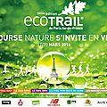 19/03/2106 : ecotrail de paris (30km) ... premier trail de 30km pour ma chérie... une belle victoire sur elle-même