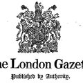 London gazette 12 septembre 1919