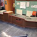 Université d'aix-marseille: une banque de prêt en carton recyclé