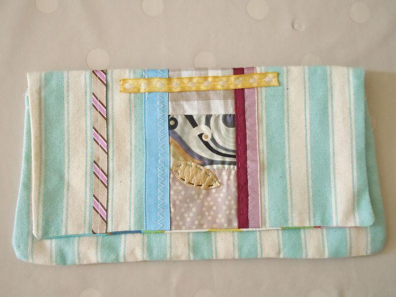 Pochette patchwork Liberty