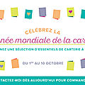 Journée mondiale de la carterie promotion stampin'up!