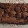 Cake chocolat aux billes vanillées