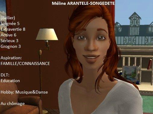 Méline Arantèle-Songedété