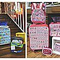 Les vacances se préparent à la boutique !