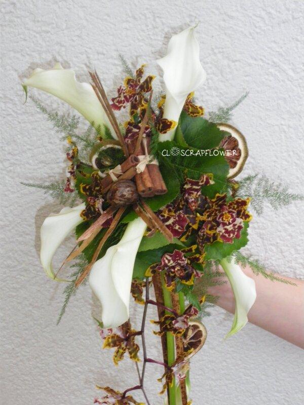 bouquet de mari e callas orchid e chocolat bis photo. Black Bedroom Furniture Sets. Home Design Ideas