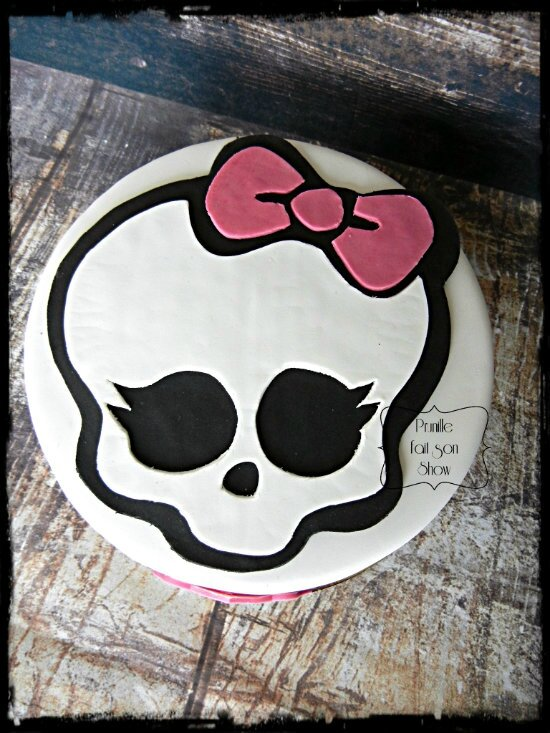 Gateau monster high
