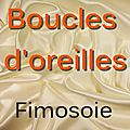 Polymre - Boucles d'oreilles.