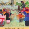 Un village maya - pages 8 et 9