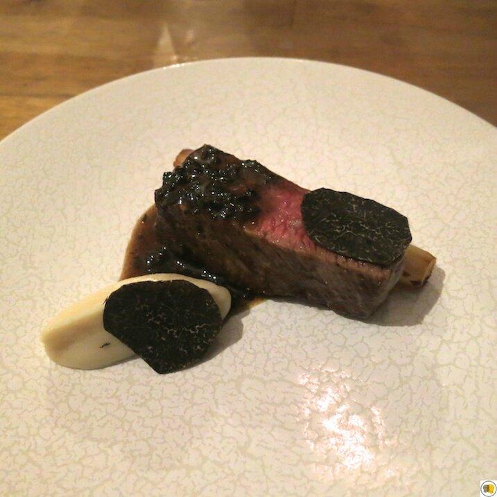 Faux filet Wagyu, salsifis, truffe noire (1)