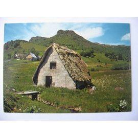 vieux-buron-au-toit-de-chaume-cartes-postales-858242372_ML