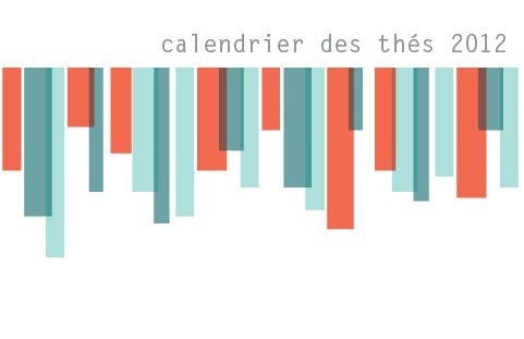 Le calendrier des ths 2012