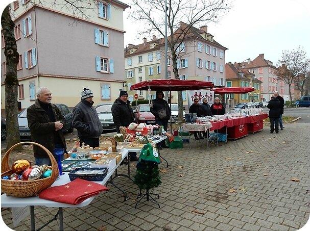 Quartier Drouot - Stands de Noël