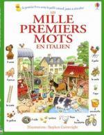 Les mille premiers mots en italien couv