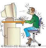 Travail sur écran