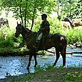 balade equestre gastronomique à La Lucerne d'Outremer (78)