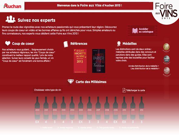 capture foire vins Auchan