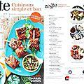 Ma revue de presse culinaire française pour mai 2014 (+ vidéo)