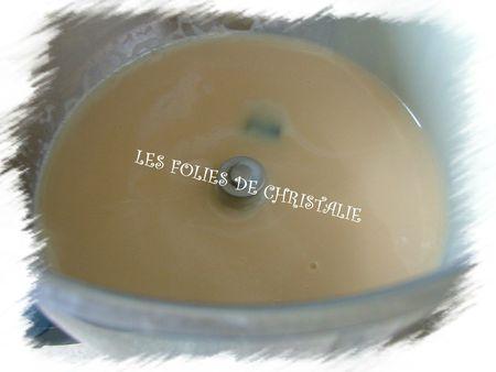 Crème légère au caramel 2