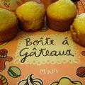 Muffins à la noix de coco...faits par mon chéri!!!
