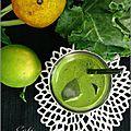 Jus vert épicé au kale & agrumes - jugo verde condimentado al kale & citricos