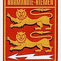 Rouen 21 novembre 2017: commemoration du 75e anniversaire de l'escadrille normandie-niemen