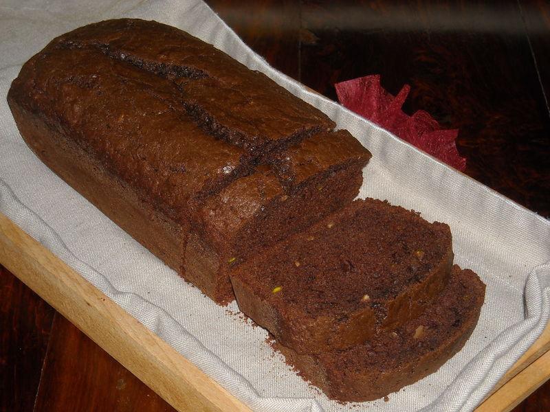 cake au chocolat pistaches et amandes le rendez vous. Black Bedroom Furniture Sets. Home Design Ideas