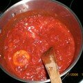 Sauce de tomates  l'italienne