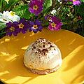 Mini dôme pomme caramel
