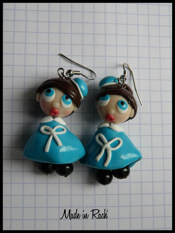 Bo petits personnages en fimo made in rach 39 - Personnage en pate fimo ...