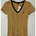 ★ t-shirt rayé ralph lauren ★
