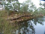 passerelle lac bleu